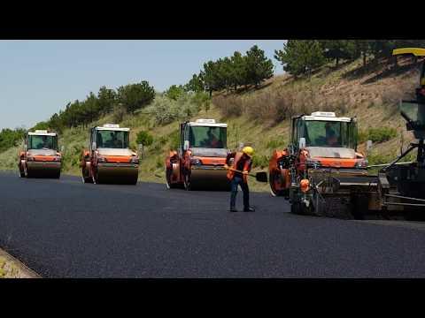 SNH İnşaat, Wirtgen ile kaliteli yollar inşa ediyor