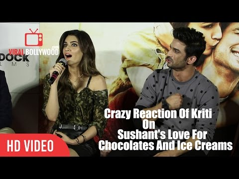 Thumbnail: This Is Very Funny | Kriti Sanon Reaction On Sushant's Love For Chocolates And Ice Cream