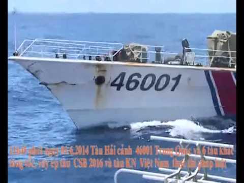 China's oil rig off Vietnam's coast: Aggressive acts at sea