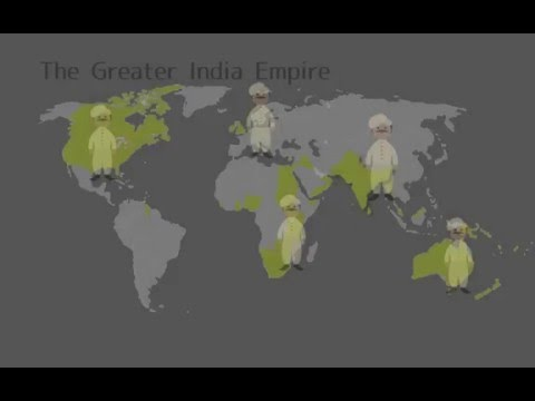 If Manchuria was a part of China ,the British Empire should be a part of India.