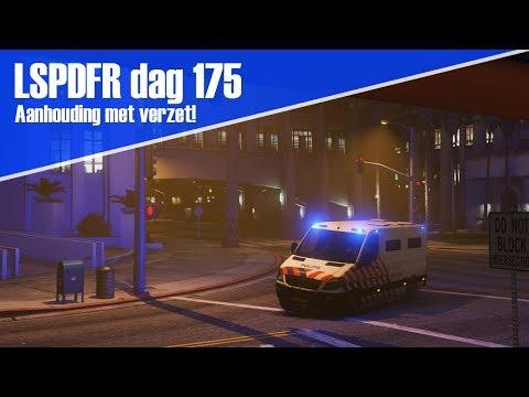 GTA 5 lspdfr dag 175 - Drukke dienst! Aanhouding met verzet! [Transport bus]