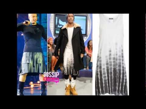 ASAP ROCKY WEARING A DRESS GAY OR NOT? - YouTube