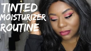 Full Beat Face With Tinted Moisturizer | Oily skin