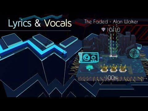 Dancing Line - The Faded (Vocals & lyrics) Alan Walker