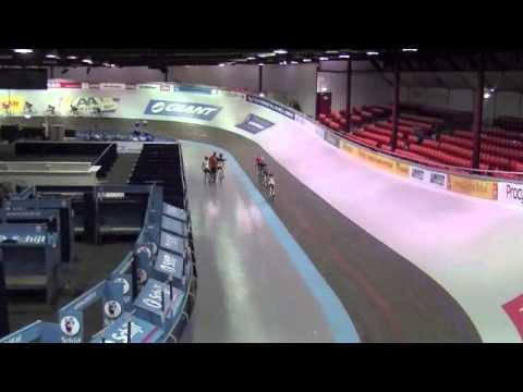 Jade Wuurman 6 jaar Baanwielrennen Velodrome sloten Amsterdam