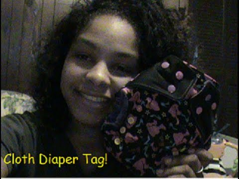 Cloth Diaper Tag!