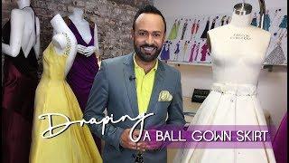 Draping a Ball G๐wn Skirt