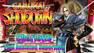[TAS] - Samurai Shodown (neo-geo) - Charlotte - No Damage