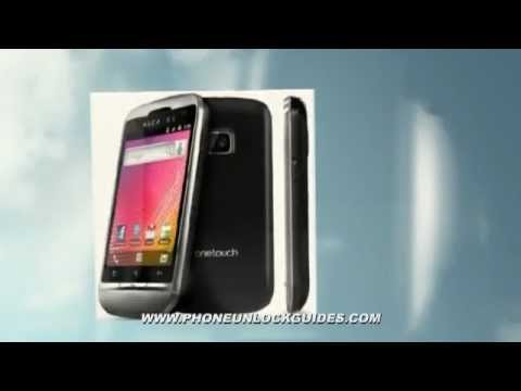 Unlocking Alcatel OT-995 - How to remove carrierlock Alcatel Onetouch 995