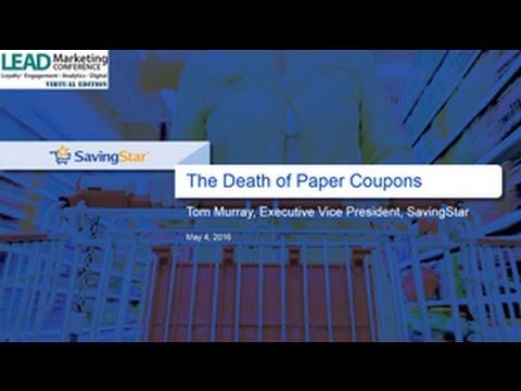 The End of Paper Coupons: The Fast Changing Landscape of CPG Promotions