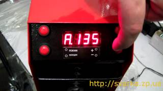 SSVA-160-2 Сварочный инвертор, Выбор режимов работы для ММА и сварка при низком напряжении(Купить сварочный инвертор SSVA-160-2 http://svarka.zp.ua/svarochnye-invertory-mma-rds/uvelichit-svarochnyj-invertor-ssva-160-2-kharkov-detail Мы ..., 2013-10-15T18:07:12.000Z)