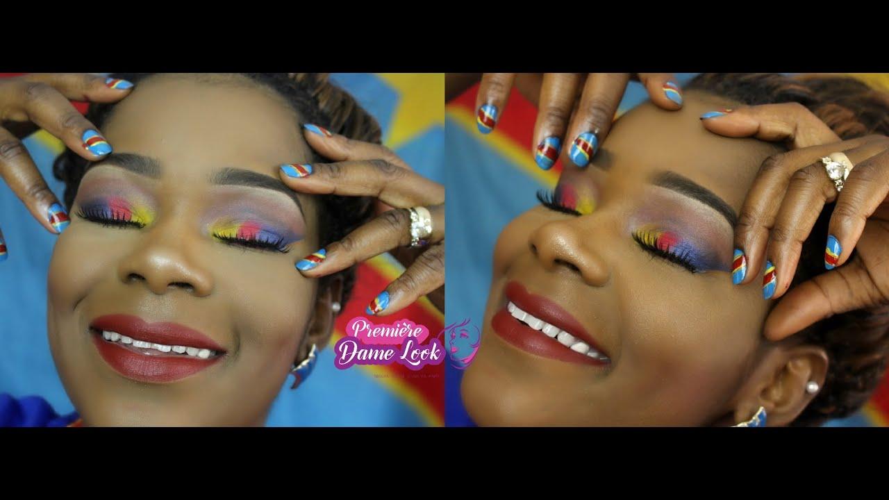 Congolese Independence Day Maquillage Na Lingala Bonus YouTube - Congo independence day