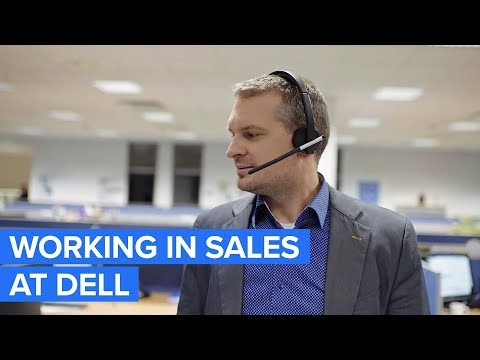 Working In Sales At Dell