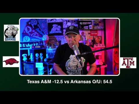 Texas A&M vs Arkansas Free College Football Picks and Predictions CFB Tips Saturday 10/31/20