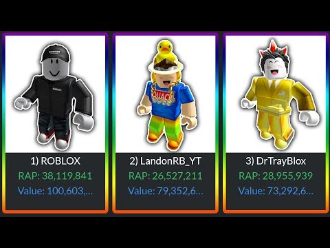 *OVER 100,000,000 ROBUX* RICH YOUTUBER ROBLOX ACCOUNTS in ROBLOX! (DanTDM, Poke, LandonRB, Tofuu)