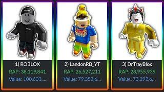 *OVER 100,000,000 ROBUX* RICH YOUTUBER ROBLOX ACCOUNTS in ROBLOX! (DanTDM, Poke, LandonRB, Tofuu)