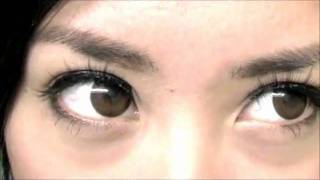 Max Pure Brown Contact Lenses Review Black Swan Makeup Michelle Phan