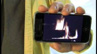 iFireplace Simulated App for iPod touch and iPhone