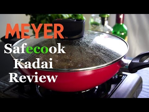 Foodvedam Product Review - Meyer Non-Stick Kadai