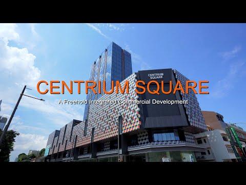 Singapore Commercial Property Video - Farrer Park Centrium Square Offices & Retail Space For Sale
