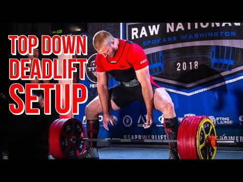 Top Down Deadlift Setup