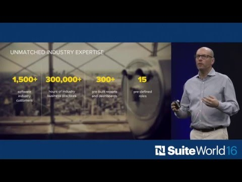 SuiteWorld 2016 Software Industry Keynote