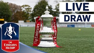 Emirates FA Cup Second Round Draw - LIVE! | Emirates FA Cup 2017/18