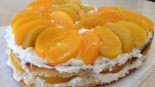 Фруктовый Торт с Очень Вкусным Кремом, Легко и Быстро | Fruit Cake Recipe