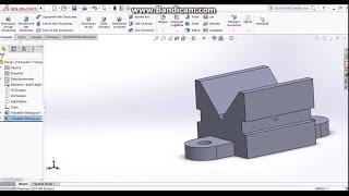 SolidWorks Örnek Çizimler #6 (Sınıf İçi Uygulamalar)