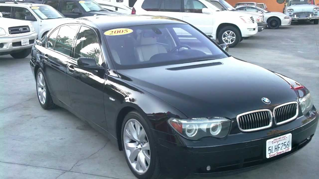 2005 bmw 745li quick reviewstreet smartz - youtube