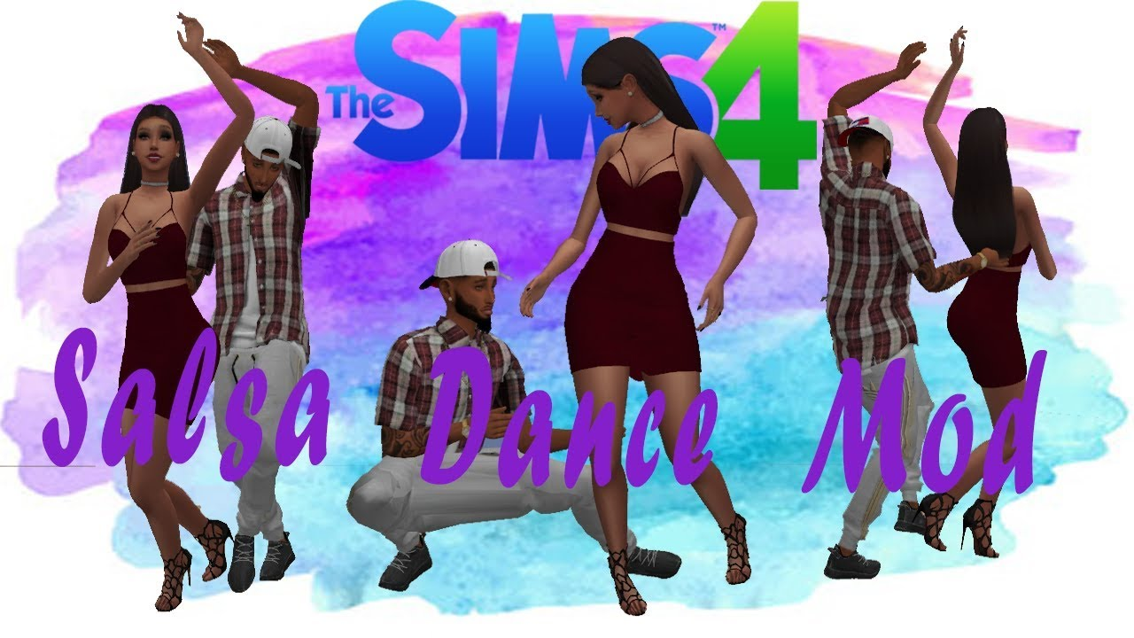 The sims 4 salsa dance mod 💃 (download) youtube.