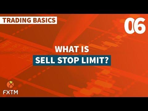 06 Sell Stop Limit - FXTM Trading Basics