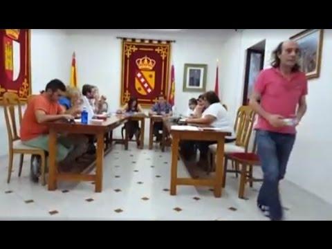 VÍDEO | Discusión justo antes de la agresión al edil de IU en Cobisa