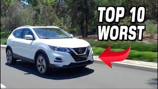 10 Worst Subcompact Crossover SUVs of 2020