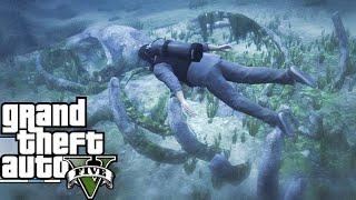 Grand Theft Auto V сервер vinewood rp подводная охота 03 03 2020