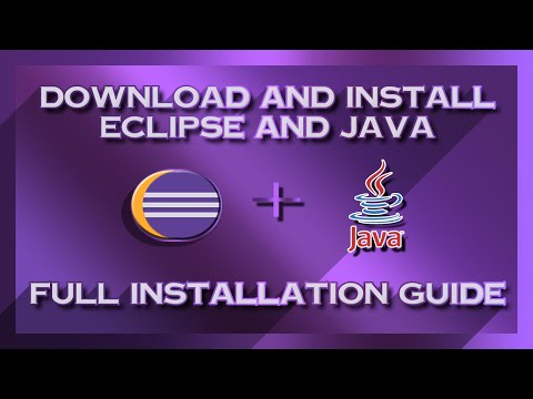 How To Download And Install Eclipse And Java In Win 7/8/10 | Latest 2020 | ✔ Complete Installation