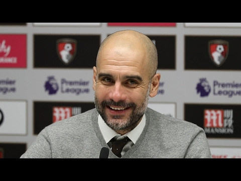 Bournemouth 0-2 Manchester City - Pep Guardiola Full Post Match Press Conference