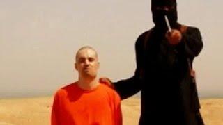 Кровавая казнь заложника ИГИЛ! ШОК!!! Слобонервным не смотреть! 2015