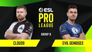 CS:GO - Cloud9 vs. Evil Geniuses [Inferno] Map 1 - Group B - ESL NA Pro League Season 10