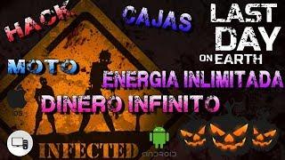 LAST DAY ON EARTH SAVE DATA HACK ACTULIZACION 27 OCTUBRE CAJAS ,DINERO, ENERGIA INLIMITADA ,ARMAS