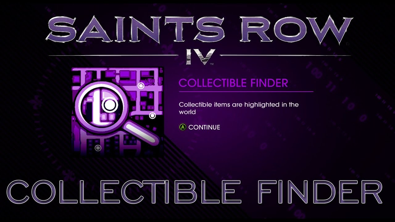 Saints Row IV - How To Get Collectable Finder - YouTube