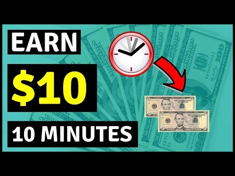 Earn $10 In 10 Minutes Surfing The Internet.[Make Money Online]