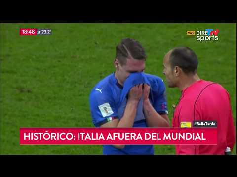 Histórico: Italia afuera del mundial