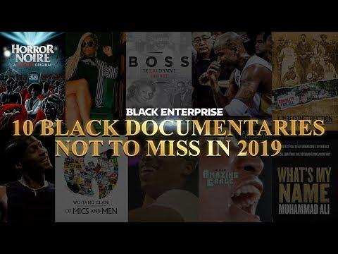 10 Black Documentaries Not to Miss in 2019