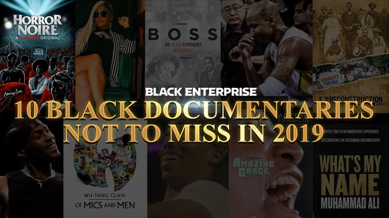 10 Black Documentaries Not to Miss in 2019