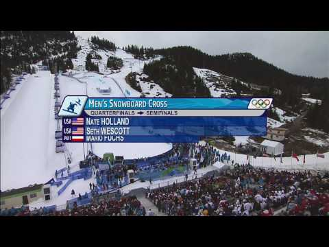 Snowboard Cross Men's Final Full Event - Vancouver 2010 Winter Olympics