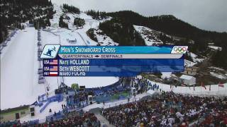 Snowboard Cross Men\'s Final Full Event - Vancouver 2010 Winter Olympics