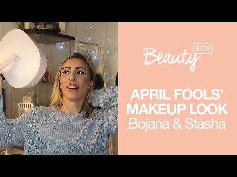 Prvoaprilski makeup look | BOJANA & STASHA