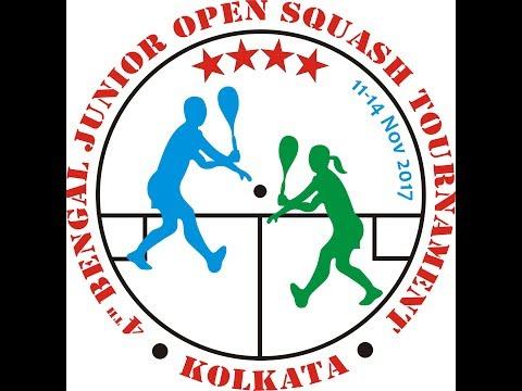 4th Bengal Junior Open 2017 I GU13 - Aasya Patel  vs S Akshaya Sri
