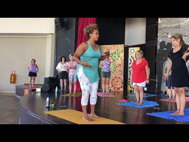 Extraits session de yoga douceur -Cayo Coco Pullman 2019